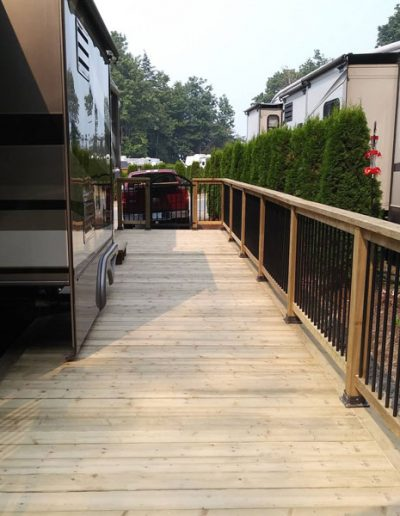 Build-8'-by-40'-Deck-for-5th-Wheel-Trailer