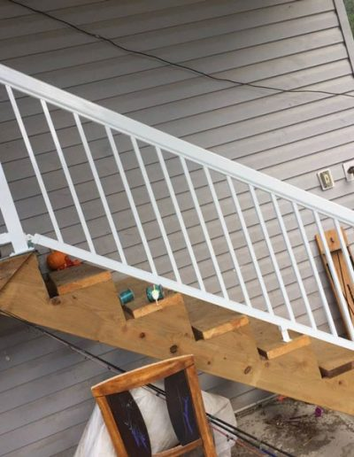Install-Railing-for-Stairs-After